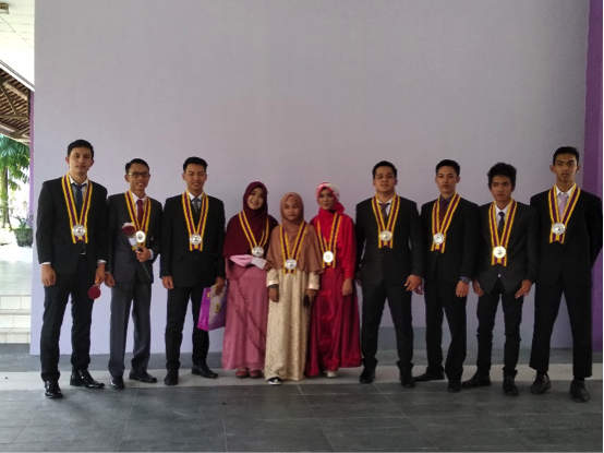 Mahasiswa Teknik Elektro  Raih IPK Tertinggi  pada Yudisium Fakultas Teknik ke-136