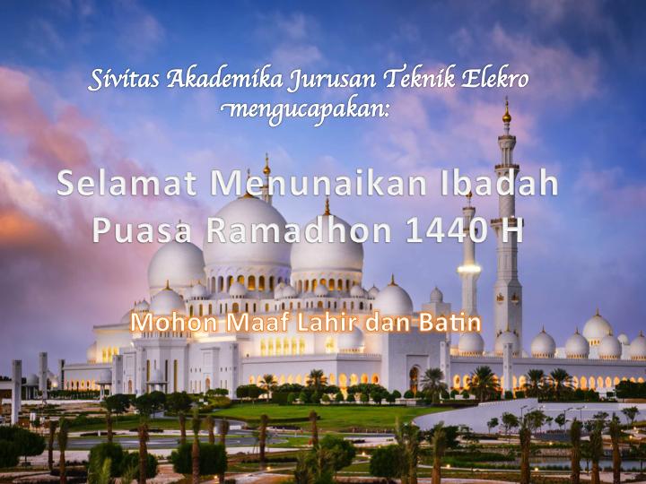 Ramadhon 1440 H