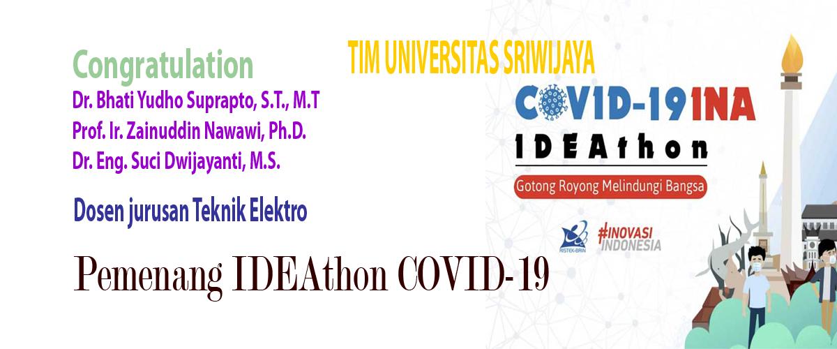 Pemenang IDEAthon Covid 19